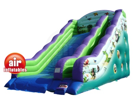 Jungle Slide Bouncy Castle